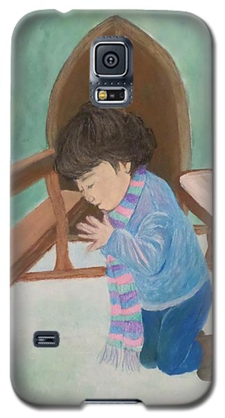 Pray Without Ceasing Galaxy S5 Case by Christy Saunders Church