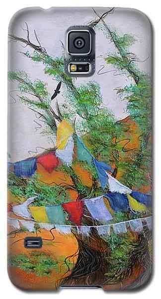 Prayer Flags Galaxy S5 Case by Deborha Kerr