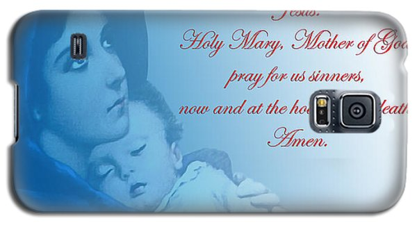 Prayer To Virgin Mary 2 Galaxy S5 Case