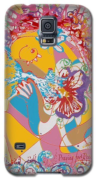 Praying For Peace Galaxy S5 Case