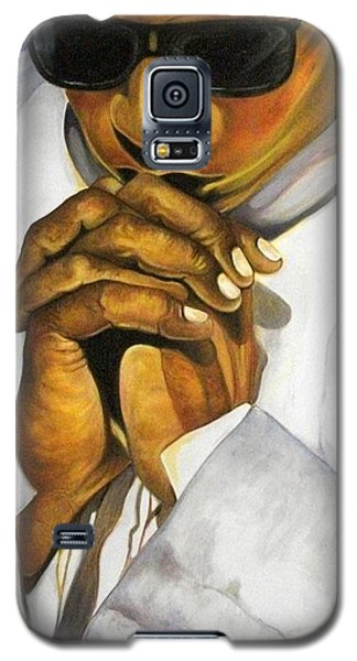 Galaxy S5 Case featuring the painting Praying Hands by Emery Franklin