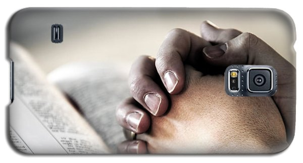 Praying In The Light Galaxy S5 Case