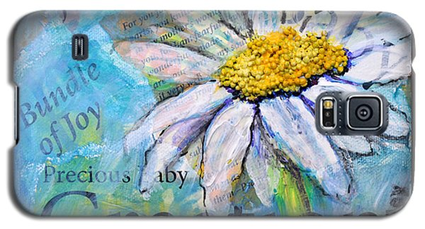 Precious Baby Creation Galaxy S5 Case by Lisa Fiedler Jaworski