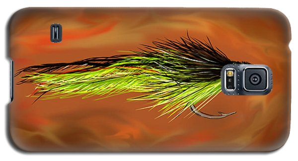 Galaxy S5 Case featuring the painting Predator Pounder by Jean Pacheco Ravinski