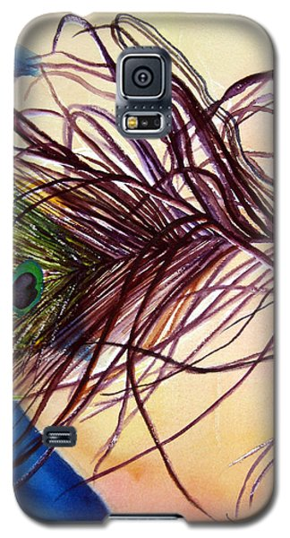 Preening For Attention Sold Galaxy S5 Case by Lil Taylor