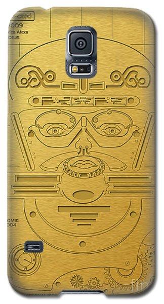 Prehistorical Astronaut Galaxy S5 Case