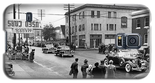 Pres. Roosevelt's Motorcade 1944 Galaxy S5 Case by Merle Junk