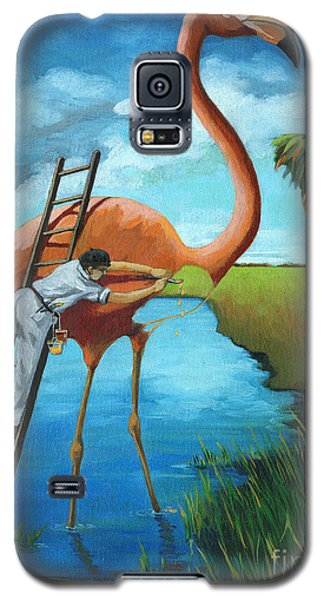 Preserving Wildlife Galaxy S5 Case by Linda Apple