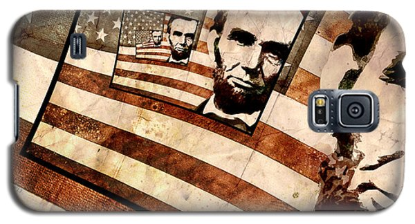 President Abraham Lincoln Galaxy S5 Case by Phil Perkins