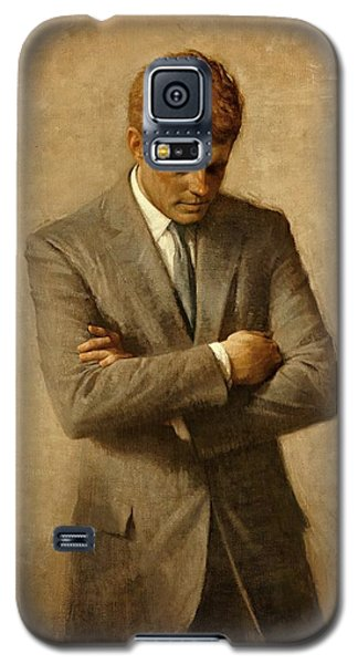 President John F. Kennedy Official Portrait By Aaron Shikler Galaxy S5 Case