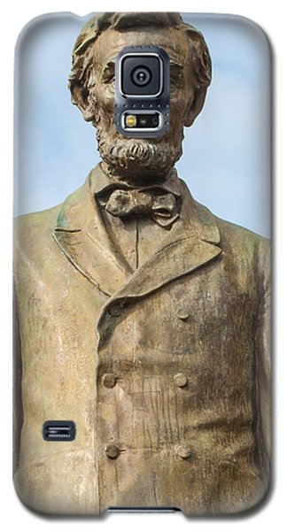 President Lincoln Statue Galaxy S5 Case by Tikvah's Hope