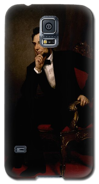 President Lincoln  Galaxy S5 Case by War Is Hell Store