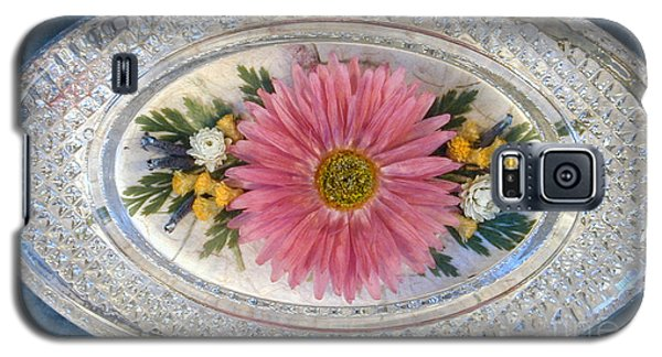 Pressed And Dried Flower Paperweight Galaxy S5 Case