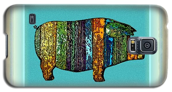 Pretty As A Pig-ture Galaxy S5 Case