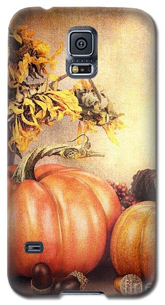 Pretty Autumn Display Galaxy S5 Case