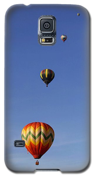 Pretty Balloons   All In A Row Galaxy S5 Case