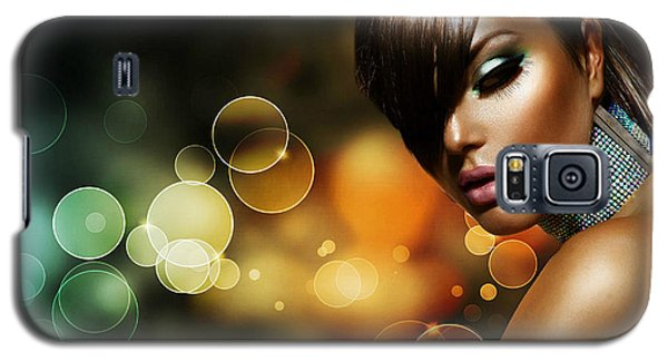 Pretty Brown Sugar Galaxy S5 Case by Karen Showell