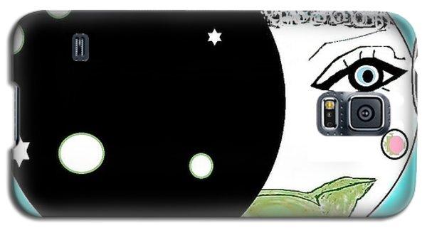 Pretty Cheeky Galaxy S5 Case by Ann Calvo