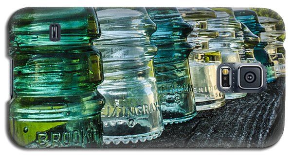 Pretty Glass Insulators All In A Row Galaxy S5 Case
