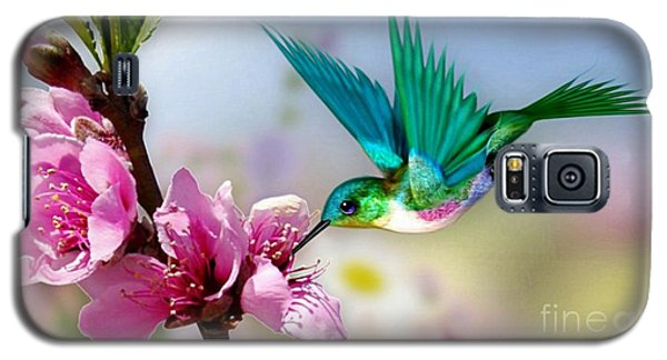 Pretty Hummingbird Galaxy S5 Case by Morag Bates