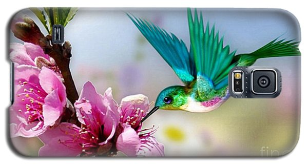 Pretty Hummingbird Galaxy S5 Case