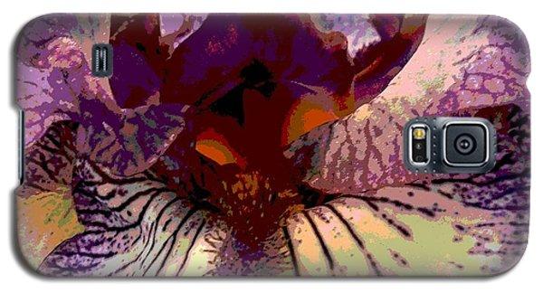 Pretty In Purple Galaxy S5 Case by Sally Simon