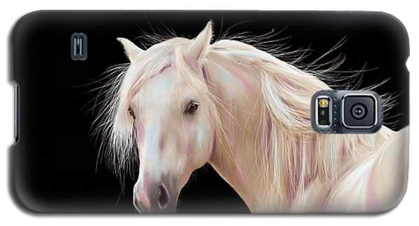 Pretty Palomino Pony Painting Galaxy S5 Case