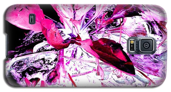 Pretty Pink Weeds 5 Galaxy S5 Case by Marianne Dow