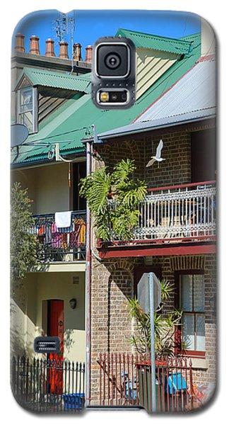 Pretty Terrace Houses In Sydney - Australia Galaxy S5 Case