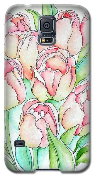 Pretty Tulips Galaxy S5 Case