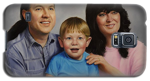 Galaxy S5 Case featuring the painting Price Family by Glenn Beasley