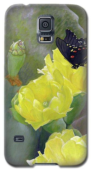 Prickly Pear Flower Galaxy S5 Case