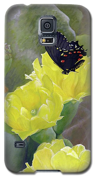 Prickly Pear Flower Galaxy S5 Case
