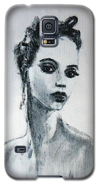 Galaxy S5 Case featuring the painting Primadonna by Jarmo Korhonen aka Jarko