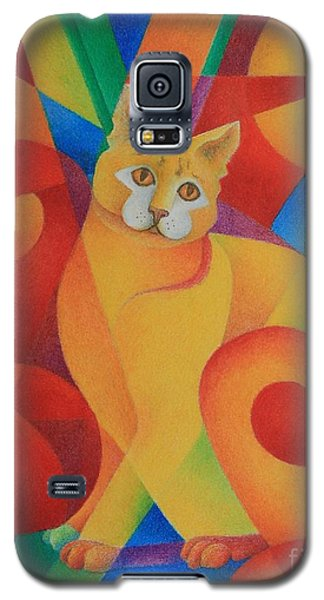 Primary Cat II Galaxy S5 Case by Pamela Clements