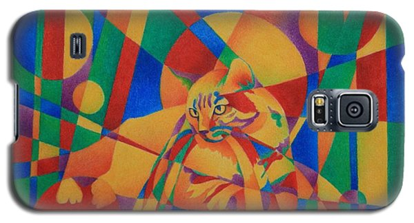 Primary Cat IIi Galaxy S5 Case by Pamela Clements