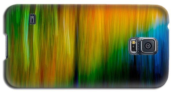 Primary Rainbow Galaxy S5 Case