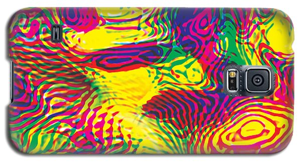 Primary Ripples Hot Galaxy S5 Case