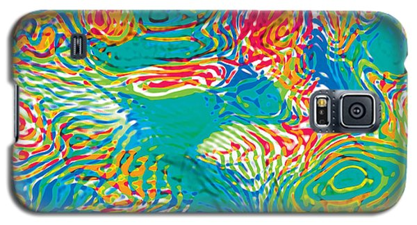 Primary Ripples Tropical Galaxy S5 Case
