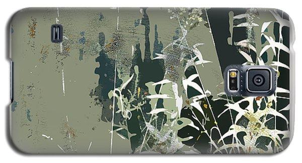 Galaxy S5 Case featuring the digital art Primordial Verdure by Bob Salo