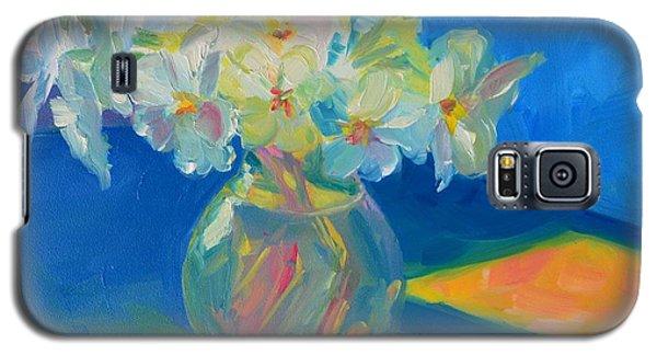 Primroses In Spring Light - Still Life Galaxy S5 Case