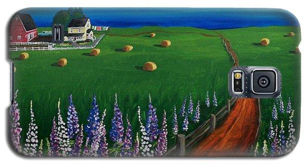 Prince Edward Island Coastal Farm Galaxy S5 Case by Patricia L Davidson