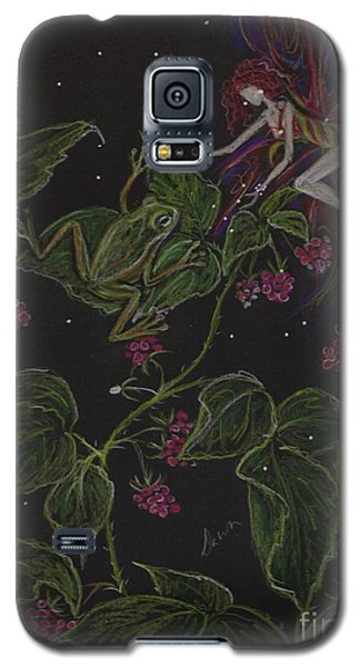 Galaxy S5 Case featuring the drawing Prince Of The Berry Bushes by Dawn Fairies