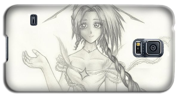 Galaxy S5 Case featuring the drawing Princess Altiana by Shawn Dall