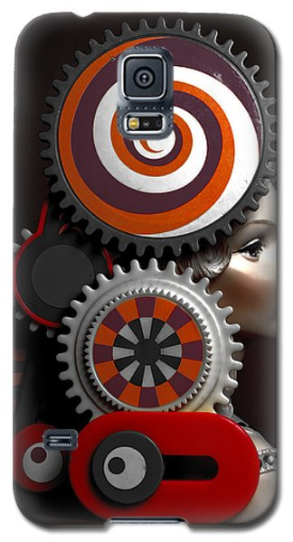 Princess And Contraption 2 Galaxy S5 Case by Jeff  Gettis