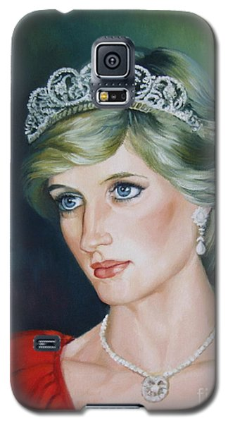 Princess Diana Galaxy S5 Case by Elena Oleniuc