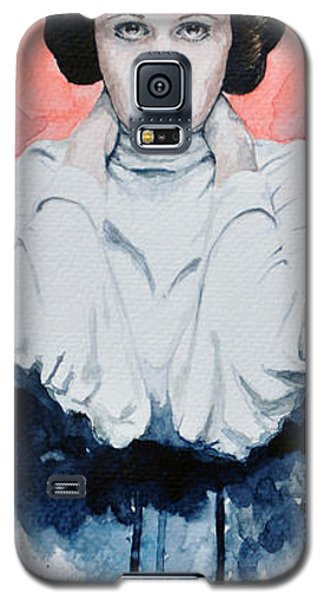 Princess Leia Galaxy S5 Case by David Kraig