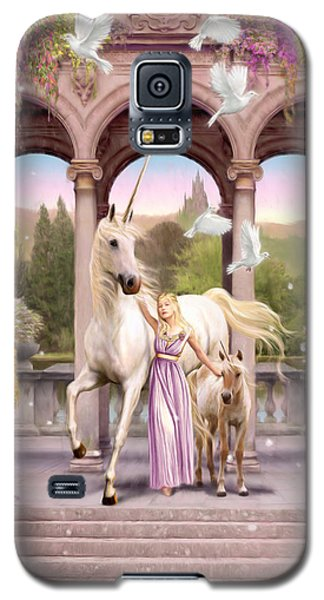 Princess Of The Unicorns Variant 1 Galaxy S5 Case by Garry Walton