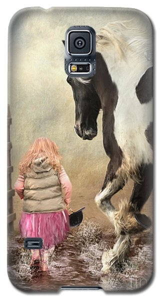 Princess Puddles And Sir Stamp Alot Galaxy S5 Case