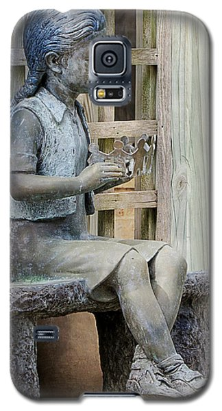 Galaxy S5 Case featuring the photograph Princess Within The Garden by Ella Kaye Dickey